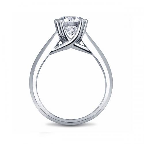 Four Prong Solitaire Trellis Setting Diamond Emporium